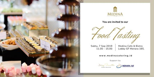 Medina Catering: Food Tasting (7 Sep 2019)