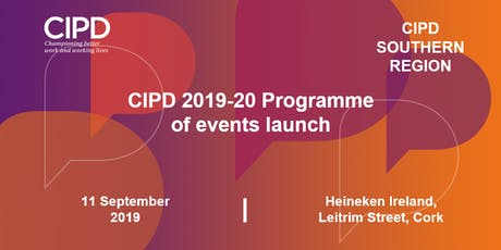CIPD Ireland 2019-2020 Programme Launch - Southern Region tickets