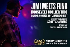 """Jimi Meets Funk - Roosevelt Collier Trio paying homage to """"Jimi Hendrix"""""""