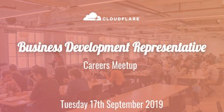 Cloudflare BDR Careers Meetup tickets