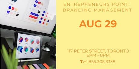 Entrepreneurs Point: Branding Management tickets