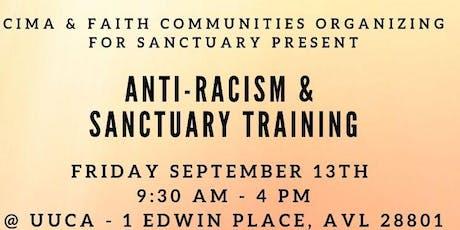 Anti-Racism & Sanctuary Training tickets
