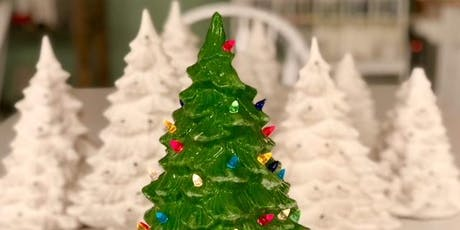 Christmas Tree Painting Brunch  tickets