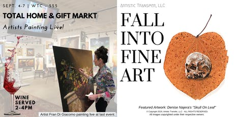 Fall Into Fine Art - Total Home & Gift Friday 9/6  tickets