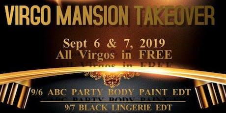 Virgo Mansion Takeover tickets