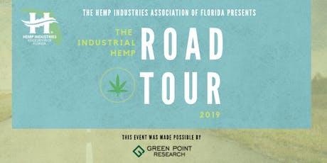 HIAF Industrial Hemp Road Tour: Jasper Event tickets