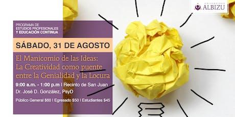 EC: El Manicomio de las Ideas tickets