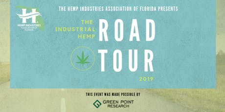 HIAF Industrial Hemp Road Tour: Gainesville Event tickets