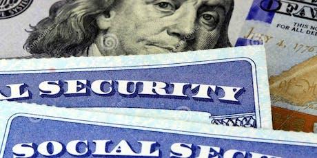 FREE SOCIAL SECURITY & MEDICARE WORKSHOP @ KANE CENTER, STUART, FL tickets