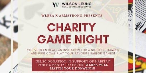 Charity Game Night!