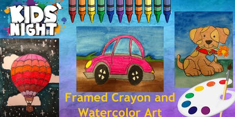 Kids'Night a Watercolor Combination! tickets