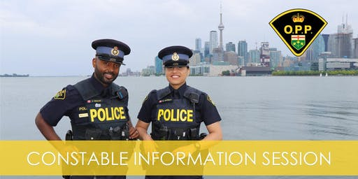 OPP Constable Information Session