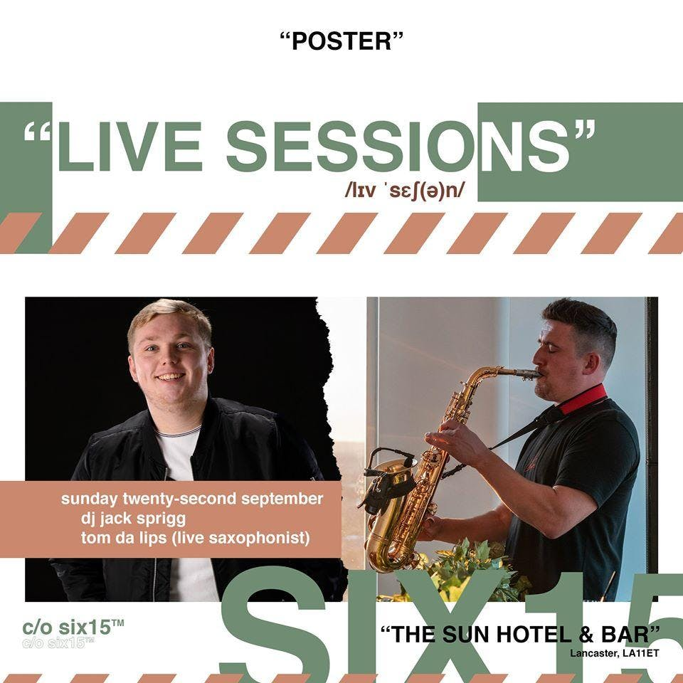 Live Sessions at The Sun: Six-15
