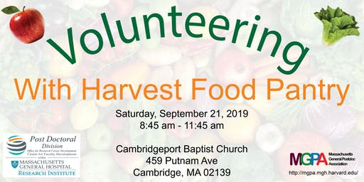 MGPA Harvest Food Pantry Volunteering