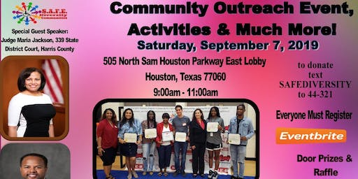 Community Outreach Event, Entertainment & Much More