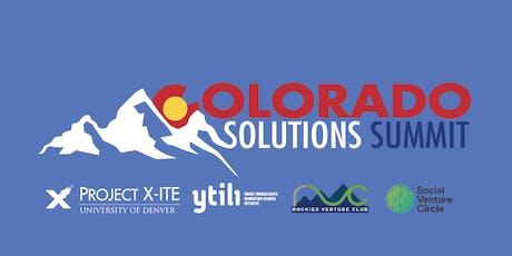 Colorado Solutions Summit tickets