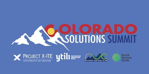 Colorado Solutions Summit