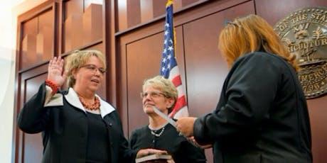 Hon. Nancy VanReece Oath of Office tickets