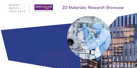 2D Materials: Research Showcase (inc. nanoIR workshop) tickets