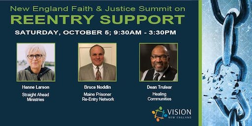 New England Faith & Justice Summit on Reentry Support