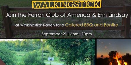 Ferrari Club of America BBQ at Erin Lindsay's Walkingstick Ranch tickets
