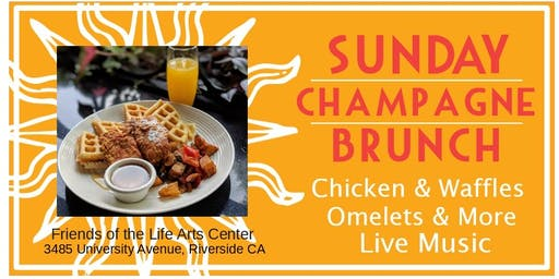 Chicken & Waffles Southern-Style Sunday Brunch