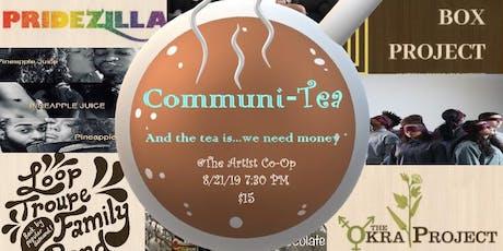 Communi-Tea tickets