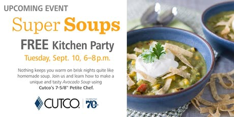 FREE Cooking Class: Super Soups tickets