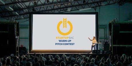 StartupSac Warm-Up Pitch tickets