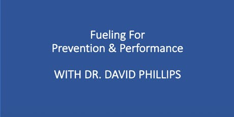 Fueling for Prevention & Performance tickets