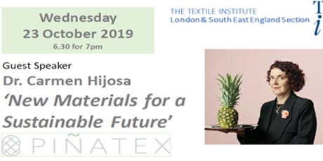 New Materials for a Sustainable Future tickets