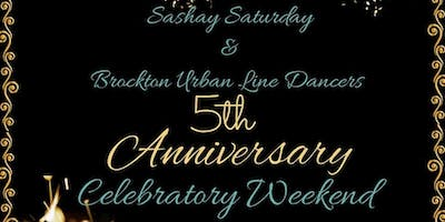 Sashay  & Brockton Urban Line Dancers ~ 5th Anniv.  Celebratory Weekend