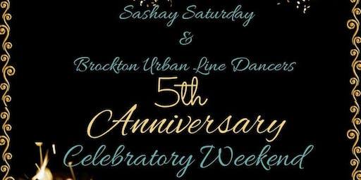 Sashay  & Brockton Urban Line Dancers ~ 5th Anniv.  Celebratory Weekend