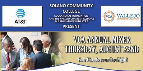 The annual Vallejo Chambers Alliance Mixer tickets