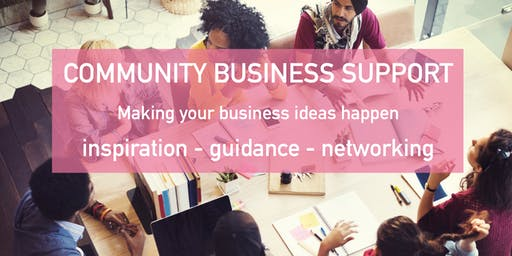 Community Business Support Event - Entrepreneurial Outreach Project