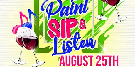 Paint Sip & Listen:1 Couples Edition tickets