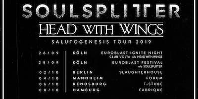 Salutogenesis Tour 2019 - Soulsplitter + Head With Wings