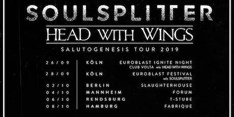 Salutogenesis Tour 2019 - Soulsplitter + Head With Wings Tickets
