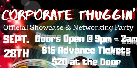 Corporate Thuggin' Hosted By Tramatik @ Connect 25 Bar tickets