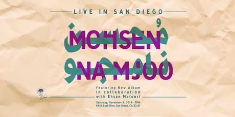 Mohsen Namjoo Live in San Diego (Featuring New Album) tickets