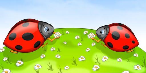 Golf Ball Ladybirds