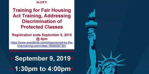 HUD Mandated Training for Fair Housing Act Training