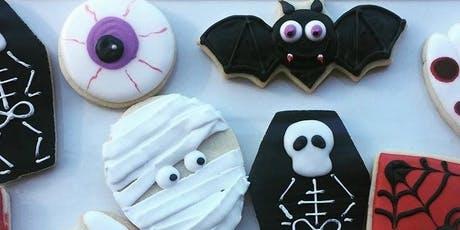 Halloween Cookie Decorating Class tickets