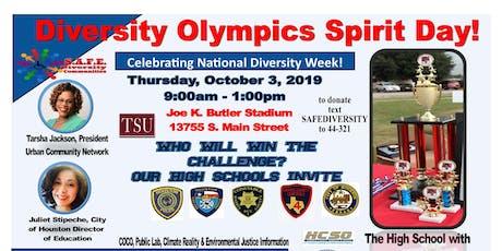 Diversity Olympics Spirit Day tickets