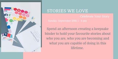 Stories We Love Workshop tickets