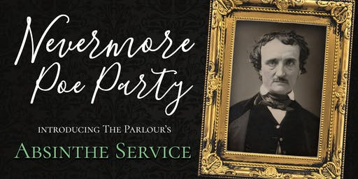 Nevermore Poe Party with Absinthe Service