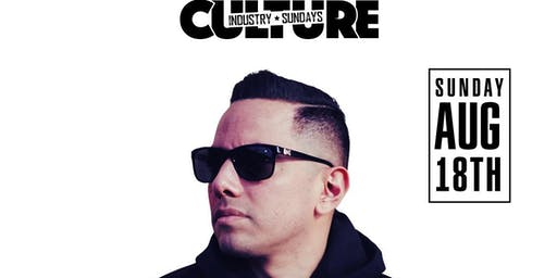 CULTURE INDUSTRY HIPHOP SUNDAYS - DJ PLAYBOI SUN AUG 18TH @ AVERY LOUNGE!