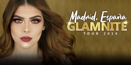 CarlaBeauty Glamnite Makeup Class Madrid entradas