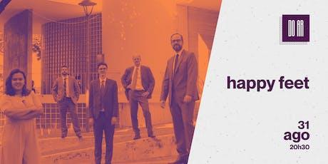 DO AR apresenta Happy Feat Jazz Band ingressos