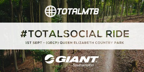#TotalMTB - #TotalSocial Ride - with Giant - QECP tickets